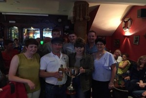 Kealey cup winners 2017 Moville Boat Club